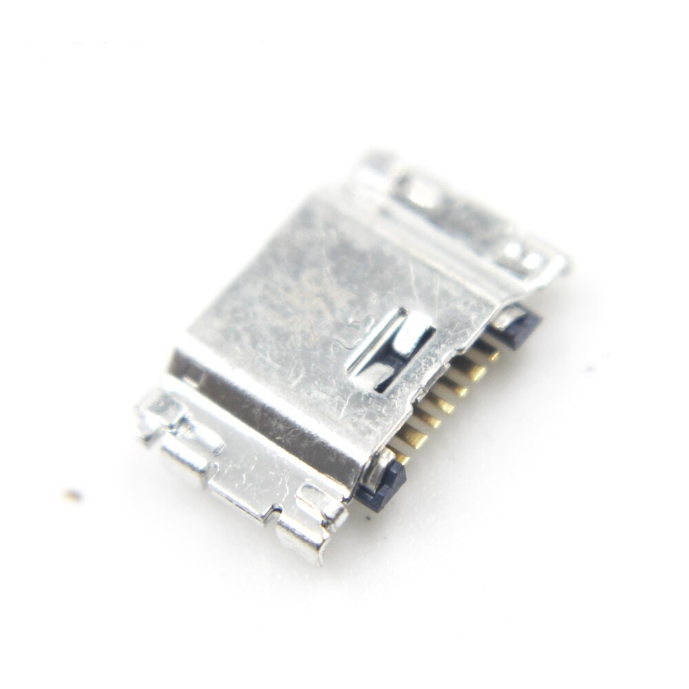 100 pçs/lote Micro USB Cobrando Conector de Porta Para Samsung J5 SM-J500 J1 SM-J100 J100 J500 J3 J300