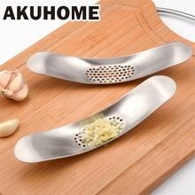 Gadgets de cuisine acier inoxydable ail presse broyeur outils de cuisson manuel ail hachoir hachage fruits légumes outils