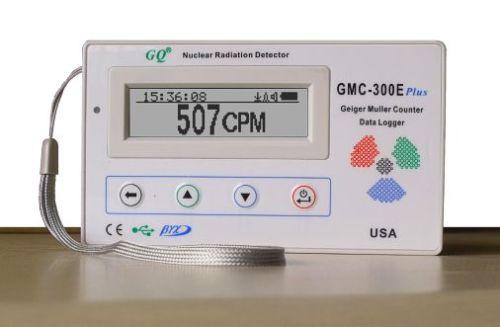 New GQ GMC-300E Geiger Counter Nuclear Radiation Detector Data logger Beta Gamma
