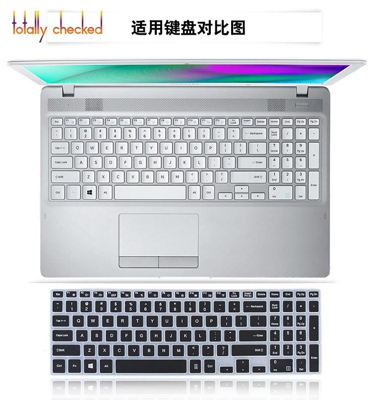 Funda protectora de piel de teclado TPU de 15,6 pulgadas para Samsung NP500R5K NP500R5L NP500R5H 500R5K 500R5L 500R5H US
