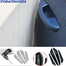 side door edge protection guards protector sticker for citroen c5 polo 6r opel corsa suzuki honda shadow 600 ford kuga 2017