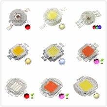Haute puissance puce LED 1 W 3 W 5 W 10 W 20 W 30 W 50 W 100 W COB SMD LED perle blanc RGB grandir spectre complet 1 3 5 10 20 30 50 100 W Watt