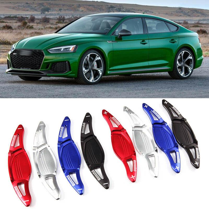 Extensión de cambio de paleta DSG de volante Add-On de aleación de sabanini para Audi RS5 2017-18