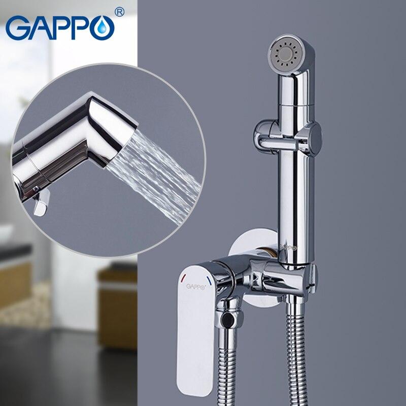 Gappo bidés chuveiro de mão do banheiro bidé pulverizador higiênico chuveiro bidé torneira fixado na parede bidé torneiras banho