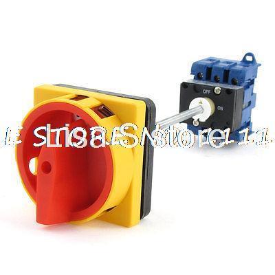 مفتاح تبديل عالمي للكاميرا الدوارة ، AC220V 440V AC380V 690V 32A ، تشغيل/إيقاف