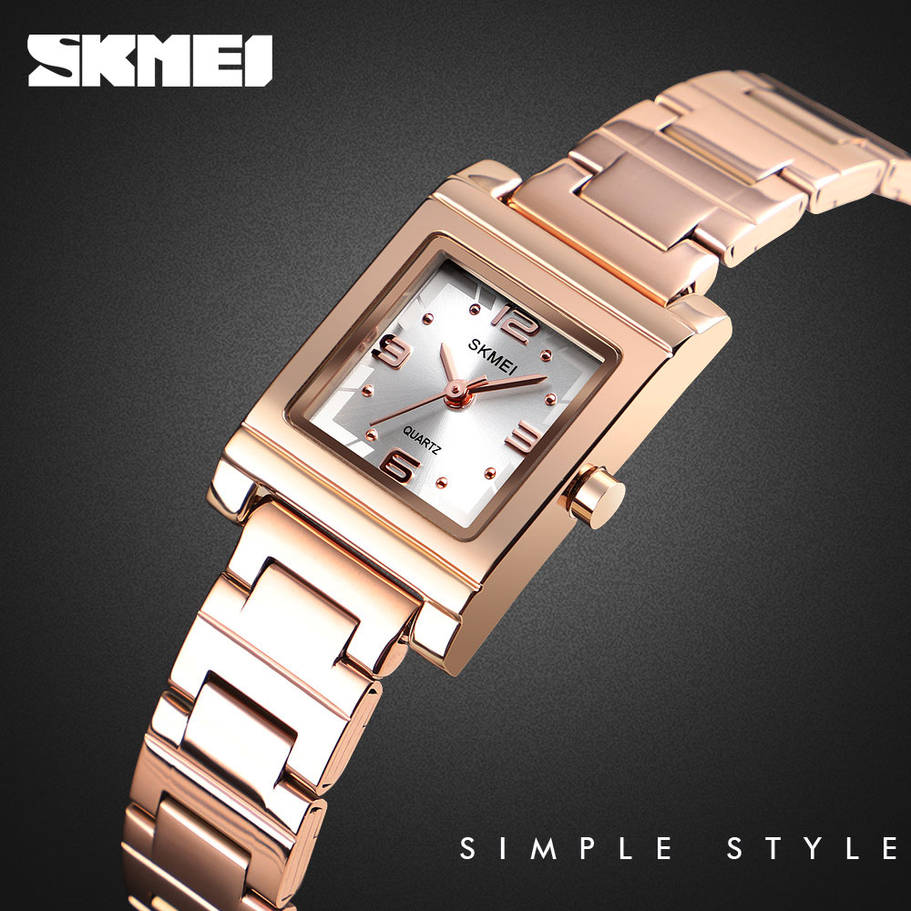 SKMEI Ladies Watch Women Quartz Watches Top Brand Luxury Crystal Female Wristwatch Girl Clock Relogio Feminino Reloj mujer 1388 enlarge