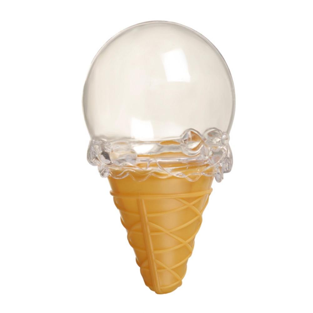 6 шт. портативный прозрачный день рождения в форме мороженого украшения для детей
