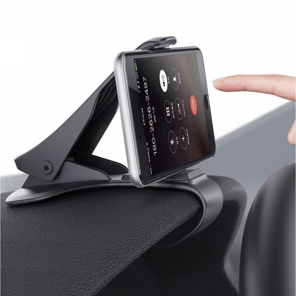 Dropshipping diseño Retro Universal coche tablero teléfono celular GPS soporte de montaje Soporte Diseño de HUD cuna nuevo estilo Coche