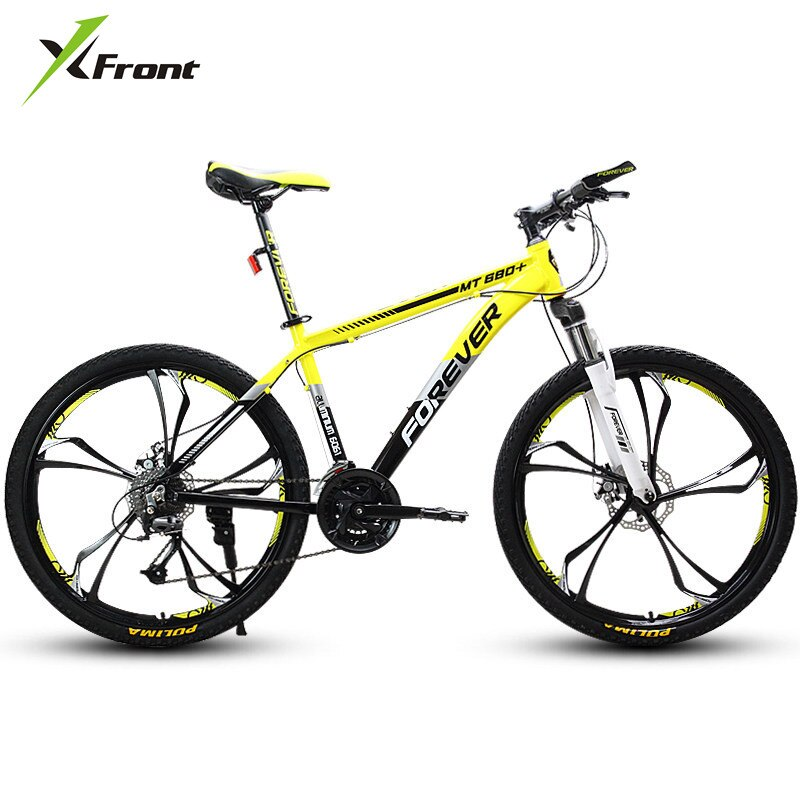 New brand Mountain Bike Aluminum Alloy Frame 27/30 Speed 26 inch Wheel MTB Bicycle Dual Disc Brake Outdoor Sports Bicicleta
