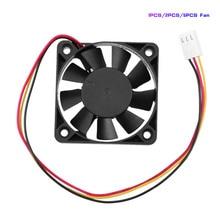 1/2/5Pcs 3Pin CPU Cooling Cooler Fan Heatsinks Radiator 12V DC CPU Cooling Fan Brushless Fan for Desktop PC Computer 50x50x10mm
