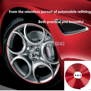 8m car accessories chrome protection wheel Rim light frame decoration for saab key 9-3 9-5 emblem 93 evening dress 95 styling