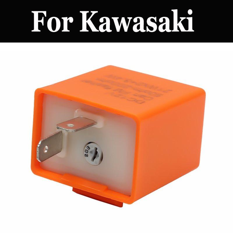 Intermitente Led de 12v relé de frecuencia ajustable indicador de señal de giro para Kawasaki En 500 400 Er Estrella Ex 400r 500 Fx400r