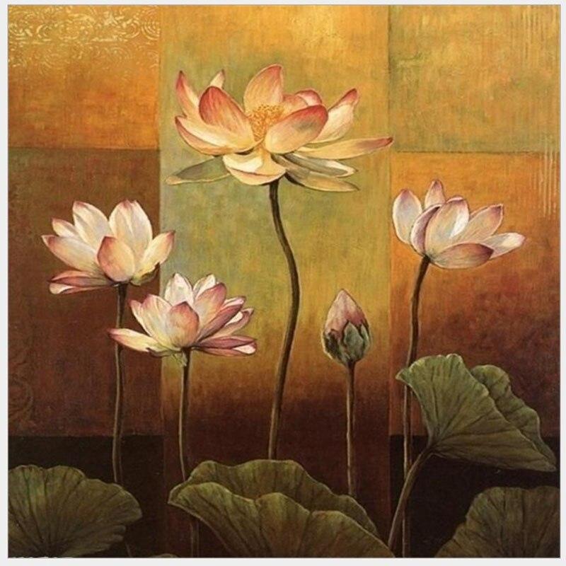Cuadro de Orquídea pintura hecha a mano lienzo de alta calidad hermosa pintura por números regalo sorpresa gran éxito