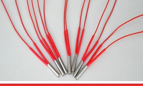 شحن مجاني 8*100 مللي متر سخان طول AC 220V 150W الكهربائية خرطوشة سخان التدفئة عنصر 10 قطعة