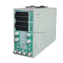 الأصلي KUNKIN KL283 قناة مزدوجة تيار مستمر الإلكترونية تحميل متر LED سائق تيار مستمر تستر 300 واط 220 فولت LED عرض الحمل متر
