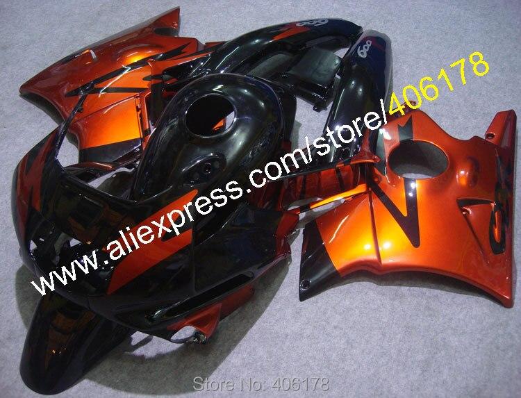 F2 CBR-600 Kit de carrocería para CBR 600 91-94 CBR600 1991-1994 F2 kit de carenados de motocicleta rojo y negro