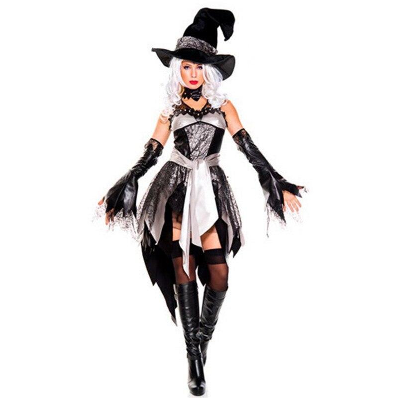 Disfraz de bruja Sexy de lujo, ropa de momento mágico, disfraz de vampiro gótico adulto, disfraz de Halloween para mujer