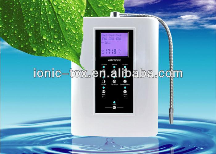 El mejor ionizador de agua funcional alcalino y ácido agua 110 V/220 V versión en inglés OH-806-3W