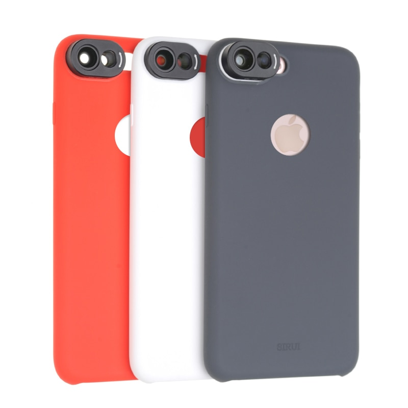 Sirui Voor Iphone7 Plus 7 P Telefoon Case Groothoek En Verbreding Dubbele Lens Siliconen Case