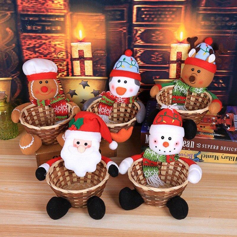 Kerst Decoratie Snoep Mand Kerst Kind Snoep Mand Kleine Pinguïn Huis Tuin Feestelijke Feestartikelen