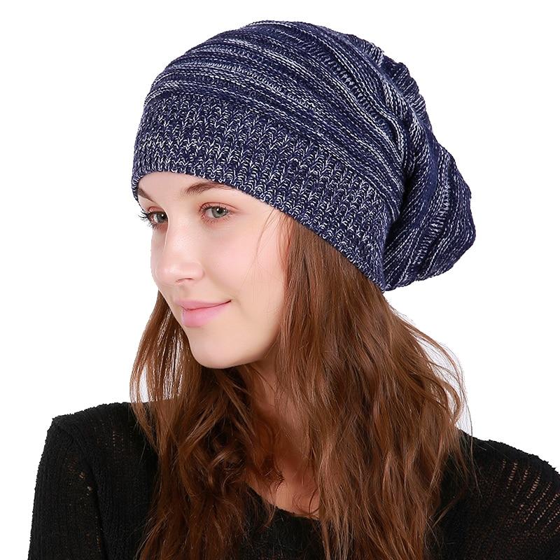 Winter Hat For Men Skullies Beanies Women Fashion Warm Cap Unisex Elasticity Knit Beanie Hats Gorros Female Caps