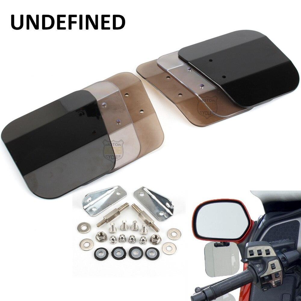 Para Honda Goldwing 1800 F6B, motocicleta, humo oscuro, lado izquierdo, aire, deflectores de viento, parabrisas de motocicleta, parabrisas indefinido