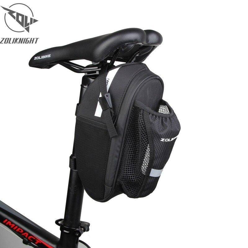 Bicycle Saddle Bag Bike Accessories Saddle Bottle Mount Cycling Rear Seat Tail Bag For Bicycle  hot sell Bisiklet Aksesuar