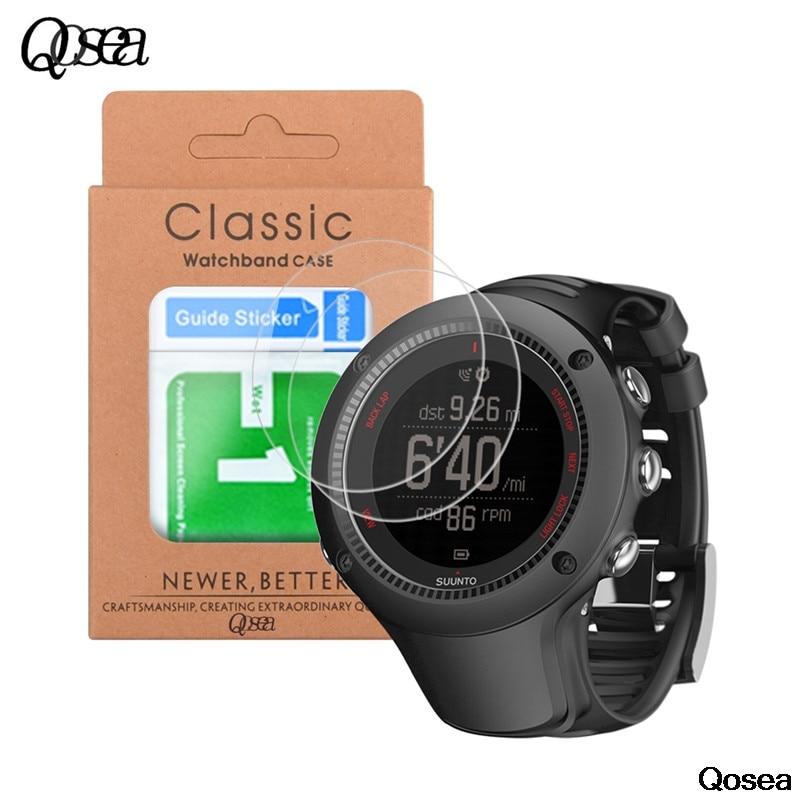 Qosea-Protector de pantalla de película, vidrio templado Premium ultrafino 9H para Suunto...