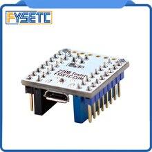 1 قطعة TMC2208 اختبار مع تكويم رؤوس للاختبار أو وامض وسائط المعلمة من TMC2208 عملية على USB إلى مهايئ مسلسل