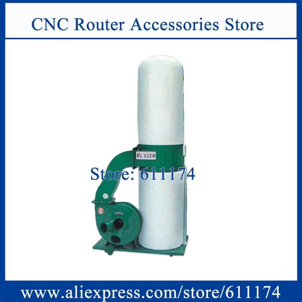Good quality 2.2Kw AC220V/AC380V wood cnc dust collector single barrel wood dust collector