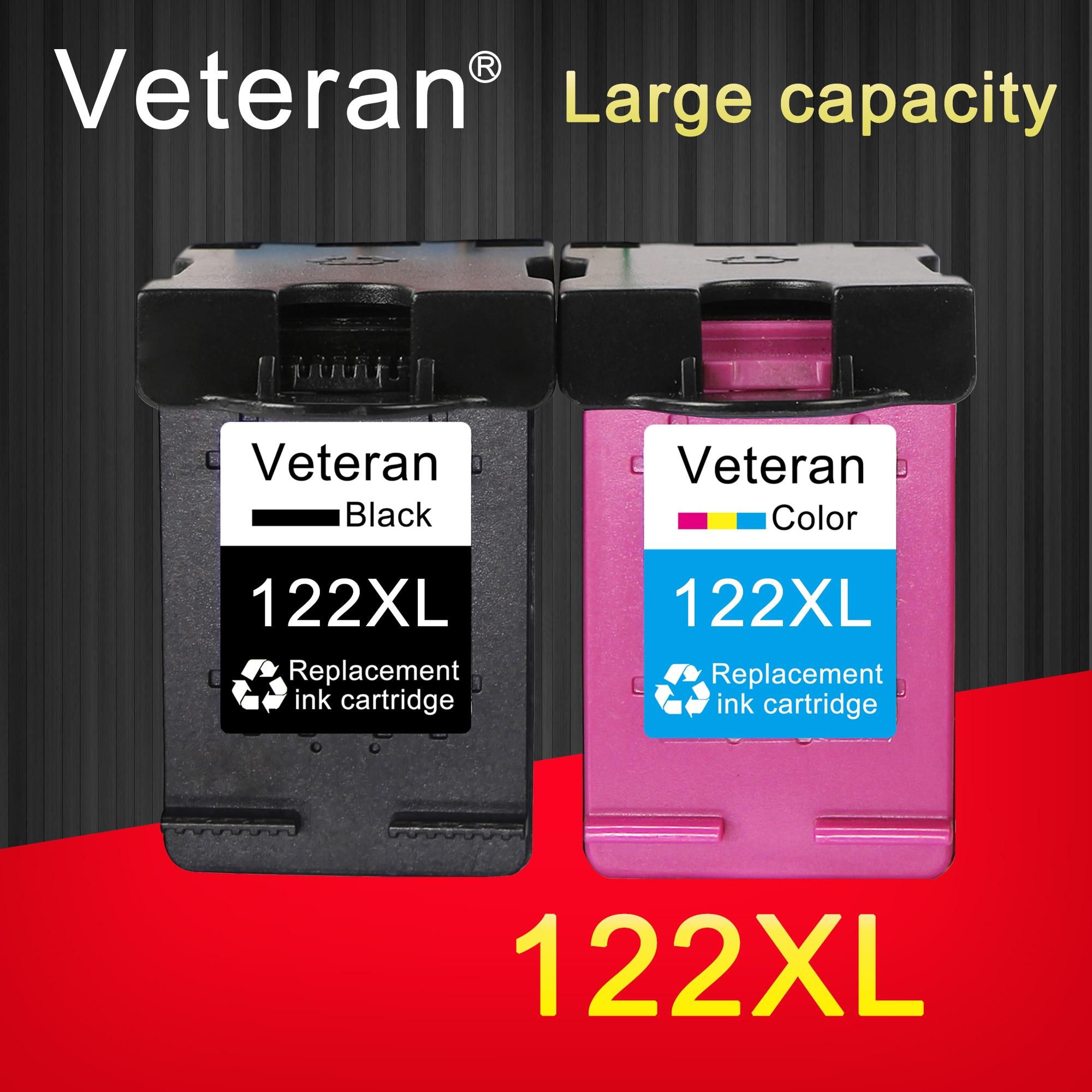 Veteran 122XL Replacement for hp cartridge 122 xl for Deskjet 1510 2050 1000 1050 1050A 2000 2050A 2540 3000 3050 3052A printer