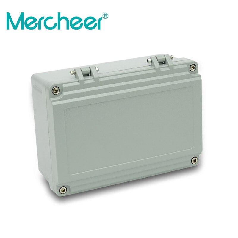 شحن مجاني 1 جزء/الوحدة أعلى جودة 100% الألومنيوم المواد للماء IP66 القياسية الألومنيوم مربع تصميم 220*155*95 مللي متر