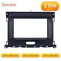 Seicnae 173*98/178*100/178*102mm Refitting Audio Panel Frame Trim Kit 2 Din Car Stereo Fascia for Ford Ranger