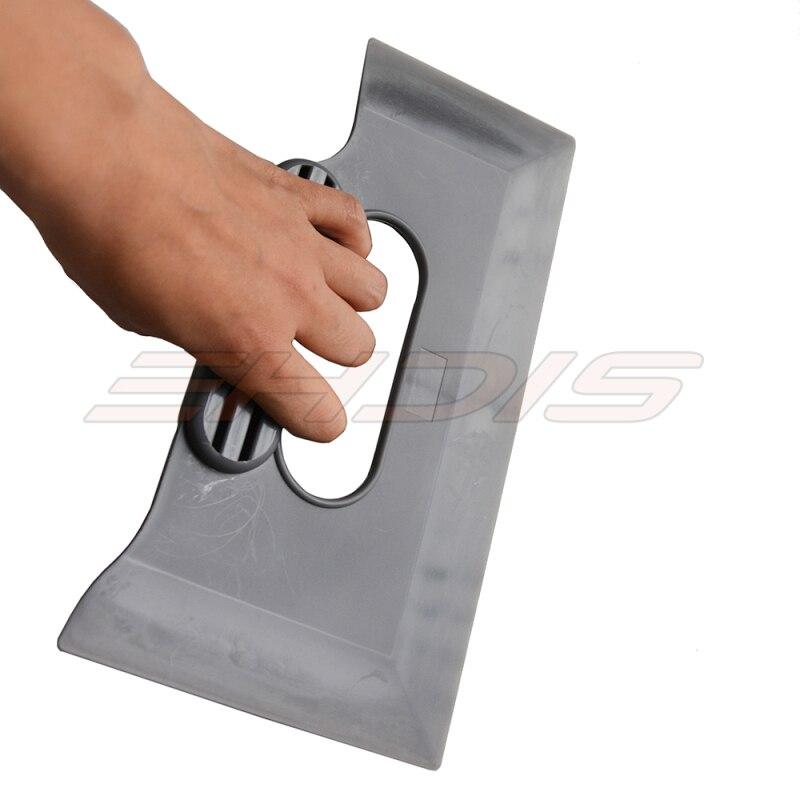 Película de vinilo con revestimiento para coche de EHDIS, escobilla de goma con mango gris, escobilla de agua, raspador, tintes de ventana, herramienta de limpieza del hogar, herramienta de pegatinas para coche