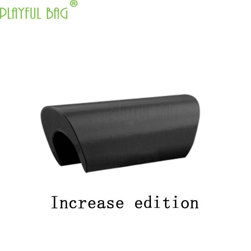 Outdoor activities CS toy water bullet gun refitting parts No. 125 Simple Folding Combination Tailstock [3D Printing] KJ12
