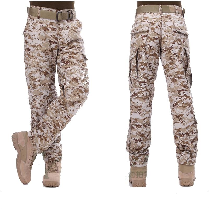 Wholesale High Quality A-TACS FG ACU CP Black Color Ripstop Pants Military Uniform Tactical Desert Camo Hunting Pants BDU Style