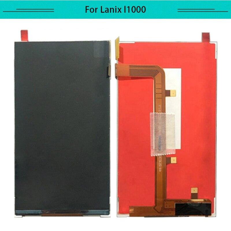 1 Uds LCD probado para pantalla LCD LANIX Ilium L1000 reemplazo del Monitor del digitalizador de la pantalla LCD y envío gratis