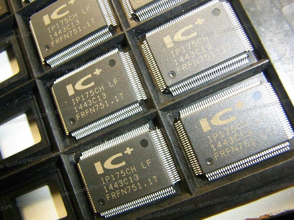 Fast & Frete Grátis 10 pçs/lote IP175CH-LF IC QFP128