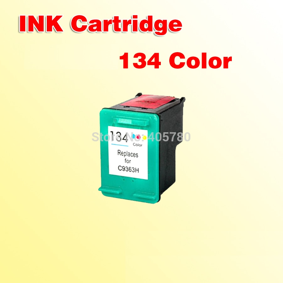 Para hp134 (C9363H) cartucho de TINTA compatível para 134 Photosmart2570/2600/2700/8000/8150/8450/8750