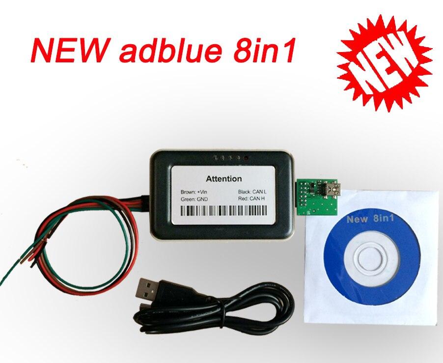 VD400 AdBlue Эмулятор A ++ качество 8 в 1 Adblue 8 в 1 с датчиком NOx Adblue 8 в 1 Adblue VD400 V4.1 для грузовиков