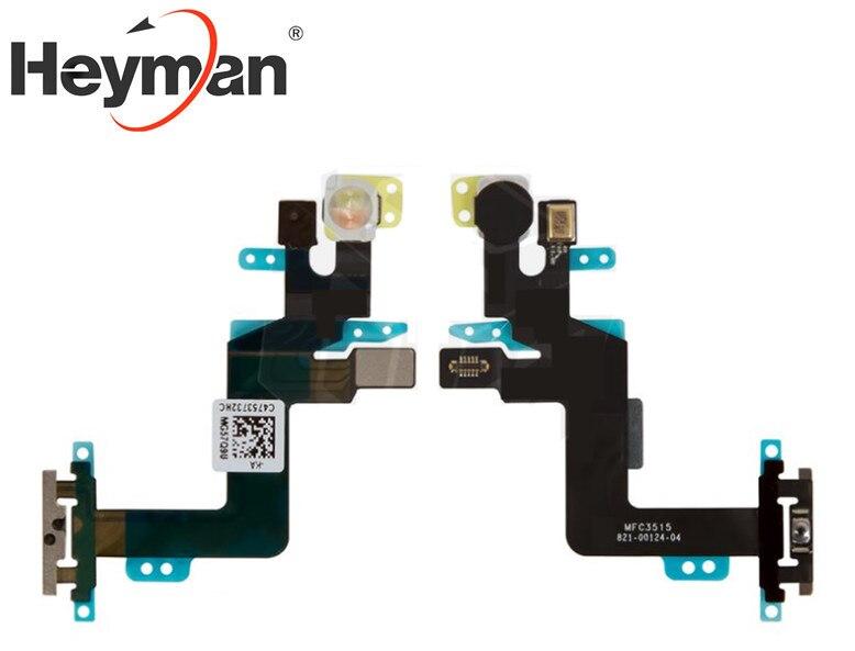 Piezas de Repuesto de Cable plano Heyman para iPhone 6 De Apple S Plus (botón de inicio, flash, con micrófono)