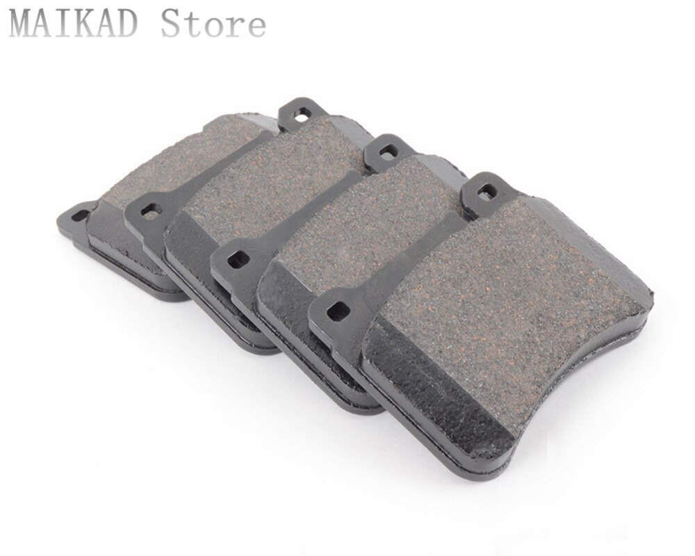Frente Rear Brake Pad Set para Aplausos Daihatsu Sirion Charmant Gran Mover Cuore Feroza Rochoso 1000 850 Hijet Terios YRV