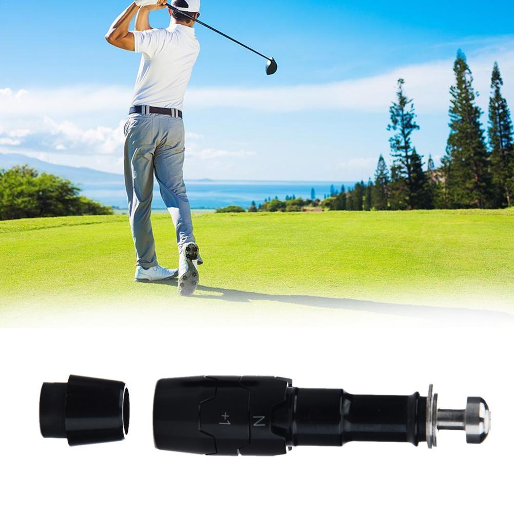 Negro de aluminio de manguito adaptador de eje de Golf puntas tamaño...