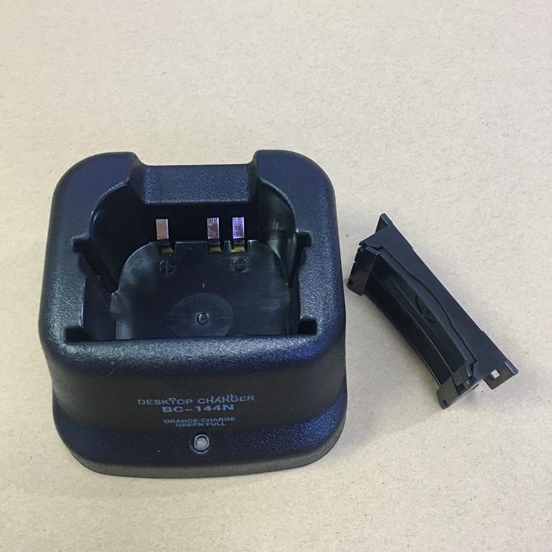 BC144 only desktop base charger for ICOM IC-V8/V82/U82/F3G/F3GT/F3GS/F4G/F4GT/F4GS/F11/F11S/F21G etc walkie talkie BP210 BP209