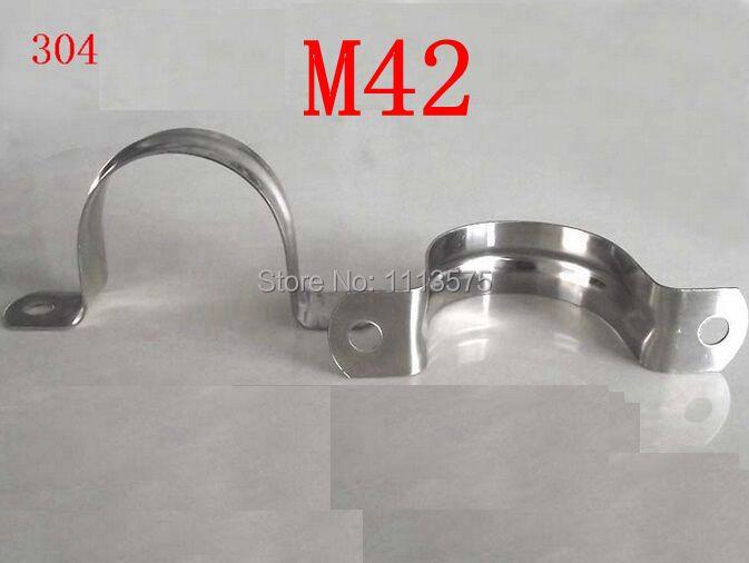 M42 304.321.316 de acero inoxidable en clip abrazadera de tubo abrazadera de montura ohm abrazadera de u-en forma de clip en caballo