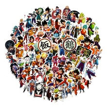 100 stks/partij Anime Dragon Ball Stickers Super Saiyan Goku Stickers Decal Voor Snowboard Bagage Auto Koelkast Laptop Sticker