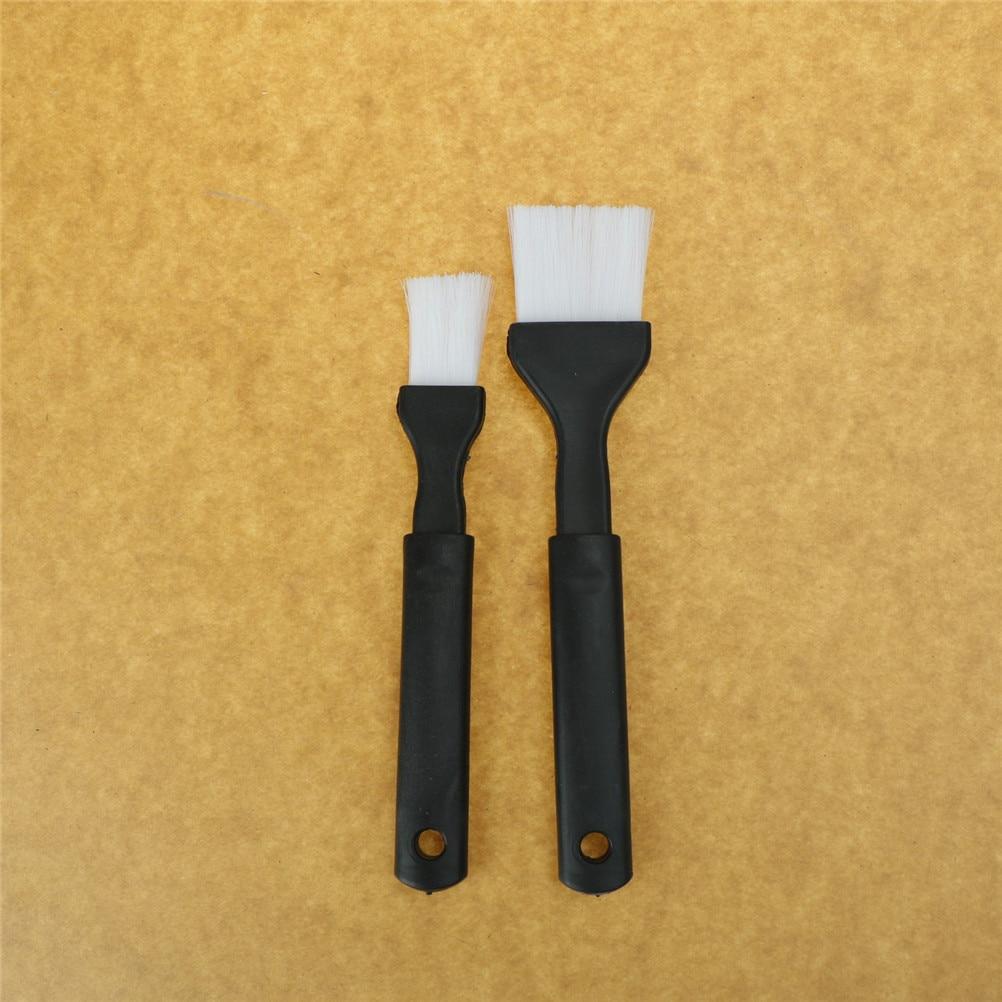 2 uds. Brocha de pastelería para hornear, herramientas de seguridad para barbacoa,...