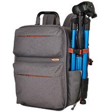 Sinpay multifonctionnel DSLR reflex sac photo 11 à 15.6 pouces sac à dos pour ordinateur portable pour Canon rebelle Nikon Sony Pentax Olympus