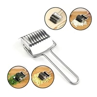 meijuner pastry cutter stainless steel manual noodle cutting simple cut chives garlic ginger kitchen tools for home cake coffee