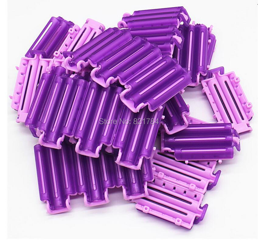 12pcs High Quality Hairdressing Styling Wave Perm Rod Corn Hair Clip Curler Maker DIY Tool Fpr Women
